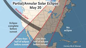 Eclipse Maps Partial U2014 And Annular U2014 Eclipse Of The Sunto Sweep North America