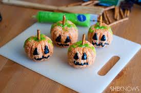 Rice Crispy Treat Pumpkins Rice Krispies Pumpkins Are The Perfect Little Halloween Treat Page 2