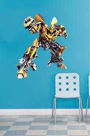 bumblebee transformers wallpaper decal autobot wall murals