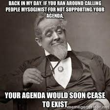 Agenda Meme - back in my day gamergate know your meme