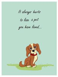dog condolences 7 free printable condolence and sympathy cards