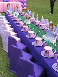sofia the birthday ideas princess sofia birthday party ideas table settings birthdays