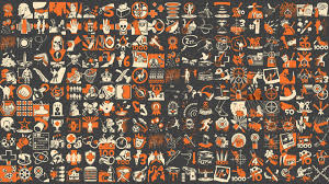 pattern wallpaper team fortress 2 pattern wallpaper game wallpapers 28759