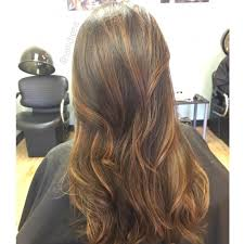 Sunkissed Brown Hair Extensions by Subtle Caramel Sunkissed Highlights For Fall Balayage Hair