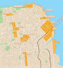 San Francisco Street Cleaning Map by Sfpark Trial Poised To Begin As City Installs New U201ccoin And Card