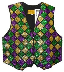 mardi gras vests everything sequin direct import and wholesale high quality at