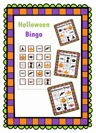 Free Printable Halloween Bingo Cards With Pictures Casual Fridays Printables
