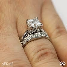 crown wedding rings vatche royal crown for princess diamond wedding set 2375