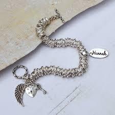 ring charm bracelet images Personalised sterling silver name charm bracelet indivijewels jpg