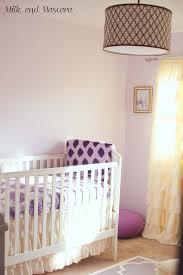 Purple Elephant Crib Bedding Land Of Nod