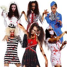 halloween horror nights costumes ladies zombie costume undead scary horr ghost halloween hen night