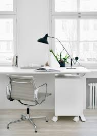 white modern office desk decordots white modern office space styling and photos riikka