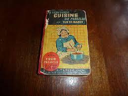 livre de cuisine ancien livre cuisine tante d occasion