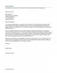 My Google Resume Google Cover Letter Examples Sample Cover Letter To A Google