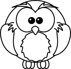 clipart black and white owl black white line art clipart panda free clipart images