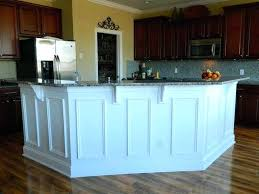 wainscoting kitchen island kitchen island molding ideas our in a click updating the