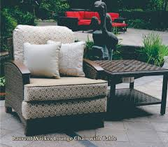 Wicker Lounge Chair Laurent Wicker Lounge Chair Set Onsight Furniture