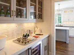 kitchen butlers pantry ideas gray butler s pantry cabinets linear marble backsplash kitchen