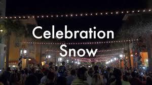 celebration fl christmas lights celebration florida christmas snowfall december 2013 youtube