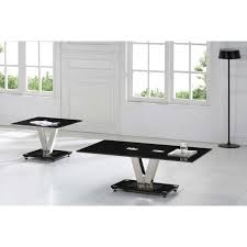 Glass End Tables For Living Room Chic Black And Glass End Tables Living Room Modern Side For On