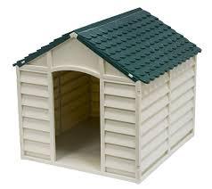 cuccia per cani da esterno tutte le offerte cascare a domus doggy 01 cuccia per cani in resina beige verde amazon it