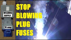 install 16 amp industrial socket for welder stop blowing 13 amp