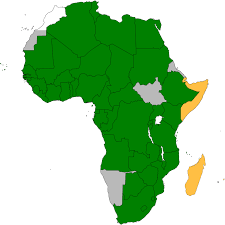 Africa Continent Map by Au Convention Governing Specific Aspects Of Refugee Problems In