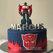 optimus prime cakes optimus prime cake transformers cake boys cakes food drinks