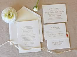 letterpress wedding invitation bello design foil