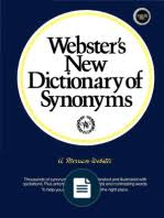 Synonyms Comfort A Complete Dictionary Of Synonyms And Antonyms
