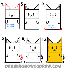 huge guide to drawing cartoon characters from uppercase letter e