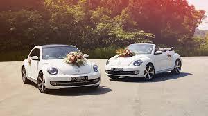 volkswagen convertible white wedding car rental programme volkswagen singapore volkswagen