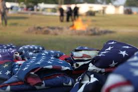 How To Dispose An American Flag Marines Render Honors To American Flags U003e Marine Corps Air Station