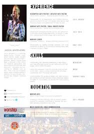 Sample Pastoral Resume by Resume Weleadworship Com