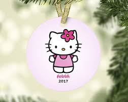 hello ornament etsy