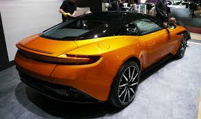 orange aston martin geneva 2016 aston martin db11 looks to the near future car