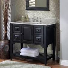 Best Black Bathroom Vanities Images On Pinterest - Black bathroom vanity and sink