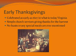 thanksgiving a true taste ppt