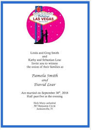 vegas wedding invitations las vegas wedding invitations lucky in with this great