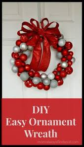 diy ornament wreath 30 nataliastyle diy ornaments