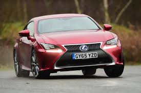 lexus sports car uk lexus rc 300h 2016 review auto express