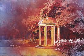 university lighting chapel hill saatchi art watercolor painting of old well on university of north