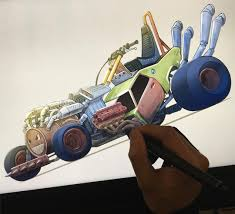 rattletrap car damon designs stuff for tv cartoons