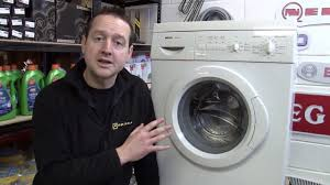how to replace a washing machine door seal on a bosch washer youtube