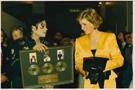 michael jackson funeral program princess diana at michael jackson s london concert 1988 popsugar