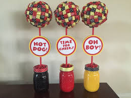 Lollipop Topiary Train Party Theme Topiary Centerpieces Set Of Three 3 Train