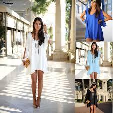 autumn women fashion asymmetrical black white blue chiffon