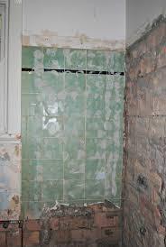 Art Deco Bathroom Transformation Week  Dapple  Grey - Bathroom tile work 2