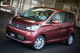 mitsubishi ek wagon nissan и mitsubishi представили свой новый кей кар для рынка японии