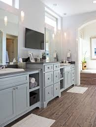 gray kitchen cabinets storm gray stain could be the answer brass